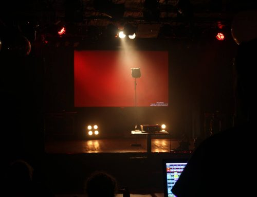 Erster Luminis Stage Lighting Workshop im Café Glocksee